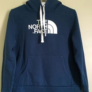 Women's North Face Navy Blue Hoodie